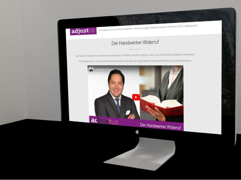 Kanzlei Homepage erstellen